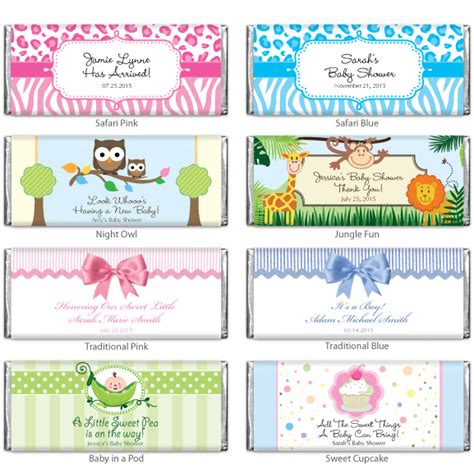 Personalized Bars For Baby Shower by Baby Shower Personalized Hershey Chocolate Bar Baby