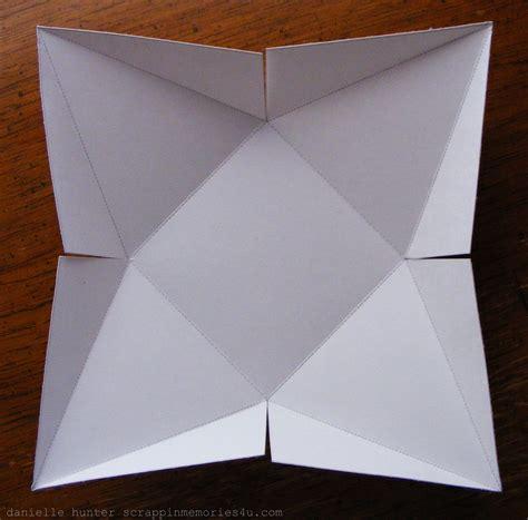 templates for pyramid boxes snap scrap blog tweet i made a pyramid box