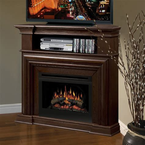 dimplex montgomery nutmeg corner electric fireplace media