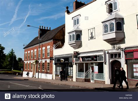 houses to buy in sutton coldfield high street and vesey house sutton coldfield west midlands stock photo royalty free