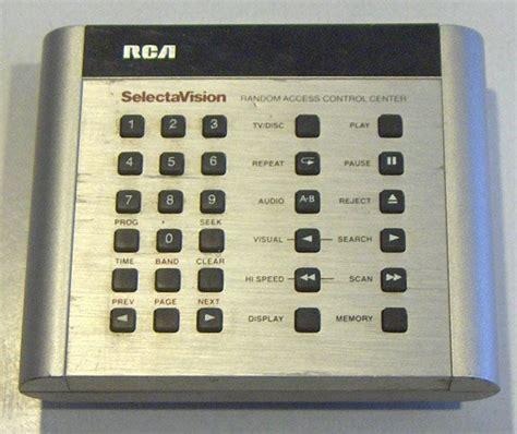 vintage rca selectavision random access control center