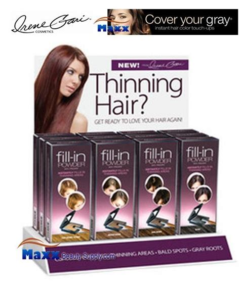 how to fill thin hair lines fisk irene gari cover your gray fill in powder for