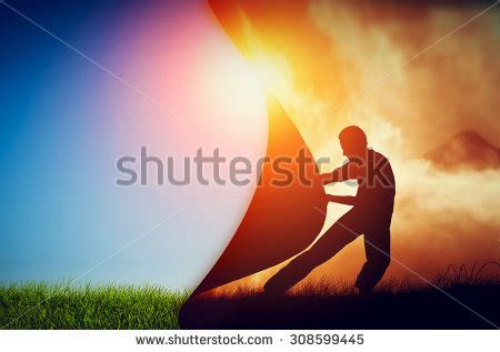 curtain man optimistic stock images royalty free images vectors