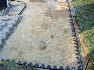 patio border how to create a paver patio how tos diy