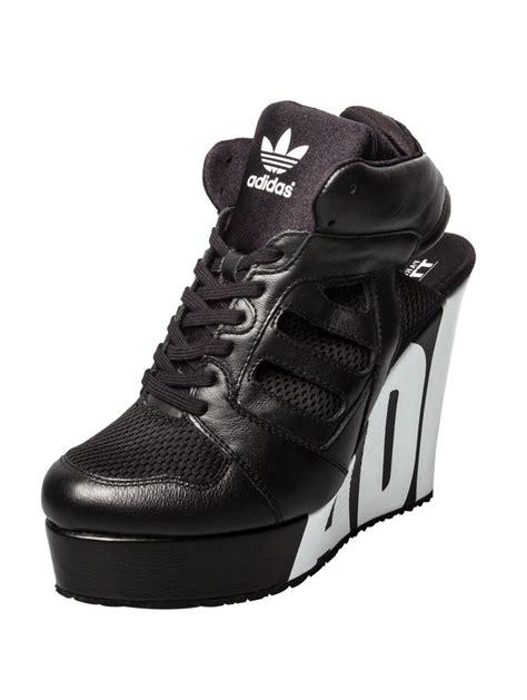 for adidas streetball platform logo wedge