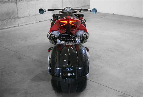 lazareth lm 847 insane lazareth lm 847 bike uses a 470 hp maserati v8