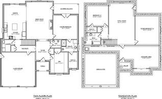 One Story With Basement House Plans single story house plans with basement house design ideas