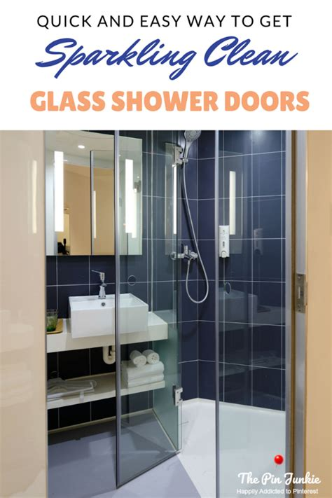 How To Clean Shower Glass Doors How To Clean Glass Shower Doors The Easy Way