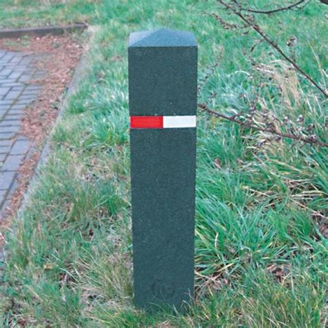 the rubber st company berkeley recycled rubber bollards 183 barriers direct