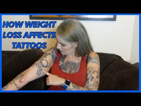 tattoo on arm after weight loss how weight loss affects tattoos youtube