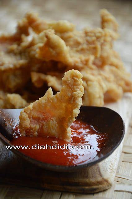 kulit ayam goreng krispi resep masakan ayam goreng resep