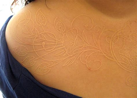 white ink tattoo designs best tattoo 2014 designs and
