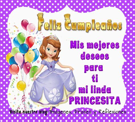 imagenes feliz cumpleaños mi princesa feliz cumple princesita hermosa imagui