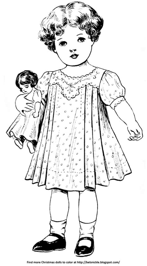 vintage baby coloring pages coloring pictures of vintage baby dolls belznickle