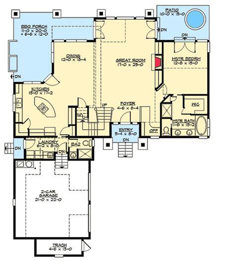 marvelous house plans 1 story 8 craftsman single story 2650 best floor plans images on pinterest