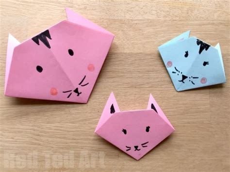 Origami And Craft - easy origami cats paper crafts for ted s
