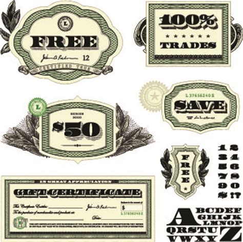 free money template 14 free vector money font images design free vector