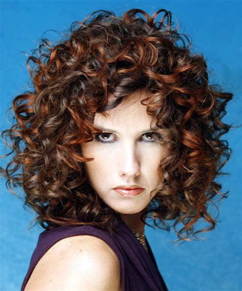 medium hairstyles  curly hair