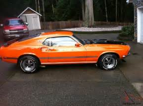 69 Ford Mustang Fastback 69 Mustang Fastback Mach1