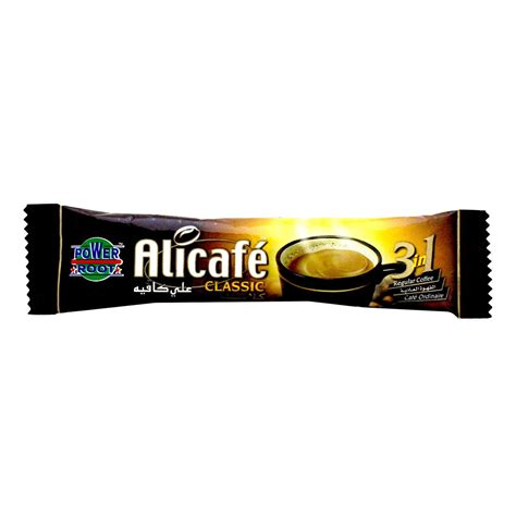 Alicafe Classic 3in1 buy alicafe classic 3in1 instant coffee 20g in uae