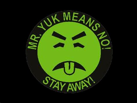 Mr Yuck Stickers