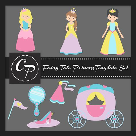 printable version of fairy tales fairy tale princess template set photography pinterest