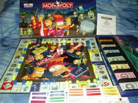 treehouse of horror monopoly monopoly simpsons treehouse of horror edition collector