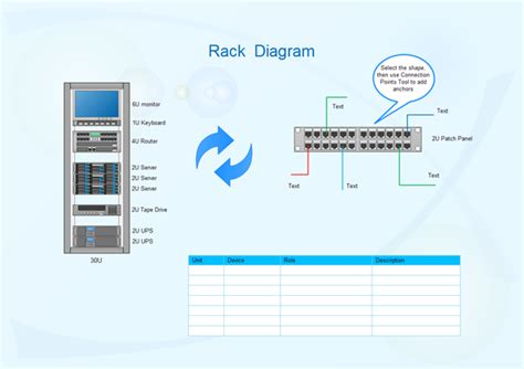 server rack diagram software learn to networking
