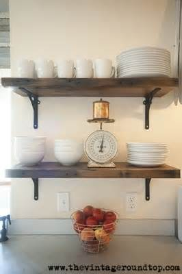 open shelving instead of cabinets kitchen pinterest - let s add sprinkles open shelving instead of upper cabinets