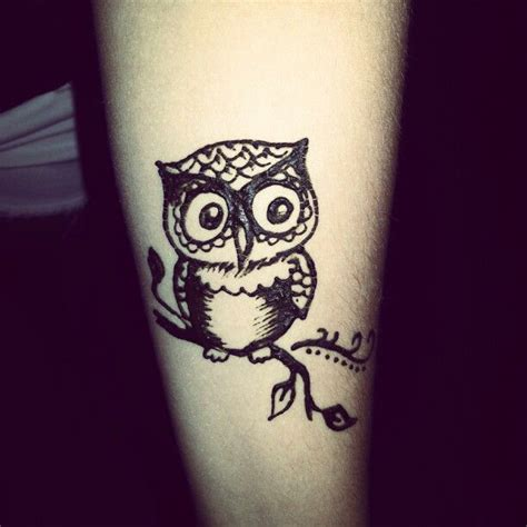 owl henna tattoo henna owl made me think of my sis tattoos ideas