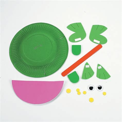 Make Frog From Paper - paper plate frog craft kit trading discontinued