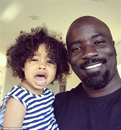 mike colter wife luke cage star mike colter cradles bump of wife iva at