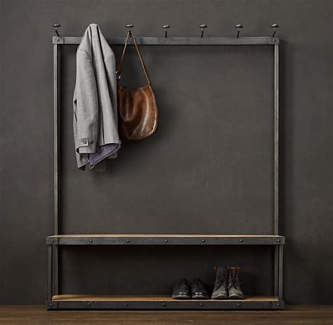 coat and shoe rack with bench restoration hardware gone right gillian gillies s