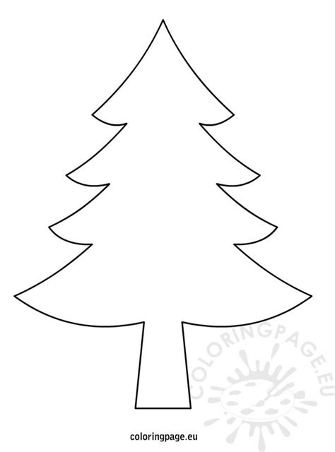 christmas tree drawing christmas tree drawing coloring page