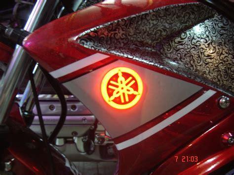 jual emblem lampu senja  sen led logo yamaha nmax