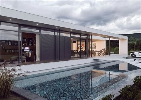 house with pool renders free 3d models houses villas pool house visopt