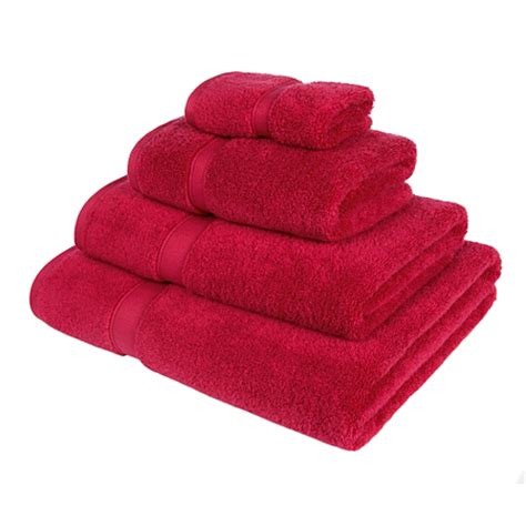 Bath Towels Asda George Home Cotton Towel Range Berry Towels