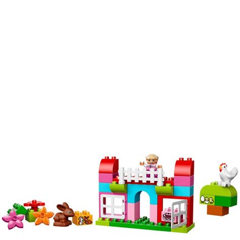 Lego 10571 Duplo All In One Pink Box Of lego duplo creative play all in one pink box of