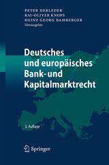 bank kapitalmarktrecht die rezensenten rezension deutsches und europ 228 isches