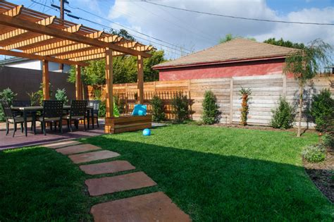 Free Backyard Makeover by W La Backyard Makeover