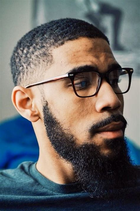 black beards and haircuts exclusive cuts black men full beard styles style and grooming