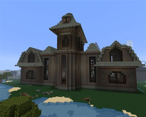 minecraft haunted house halloween the haunted mansion minecraft project