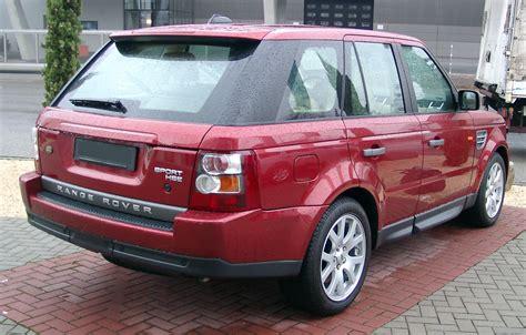 range rover 2007 hse sport file range rover sport hse rear 20071231 jpg wikimedia