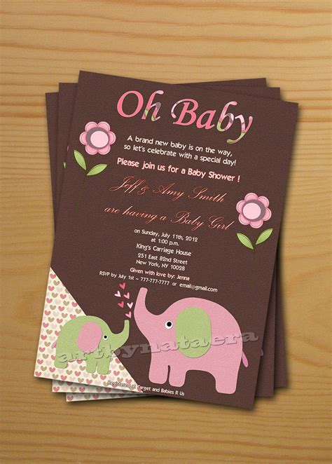 8 best images of printable baby shower cards baby shower thank