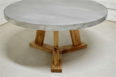 Zinc Coffee Table Zinc Coffee Tables Dining Tables And Side Tables Southern