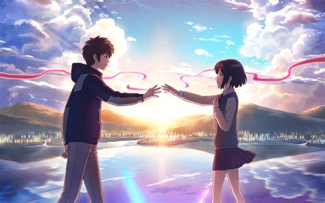 Anime Your Name anime your name mitsuha miyamizu kimi no na wa taki