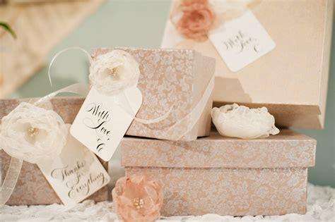 Decoupage Gift Ideas - decoupage boxes organza flowers bridesmaid gift ideas