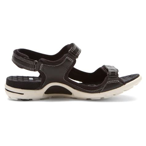 black sandals ecco women s jab strap sandal sandals in black black