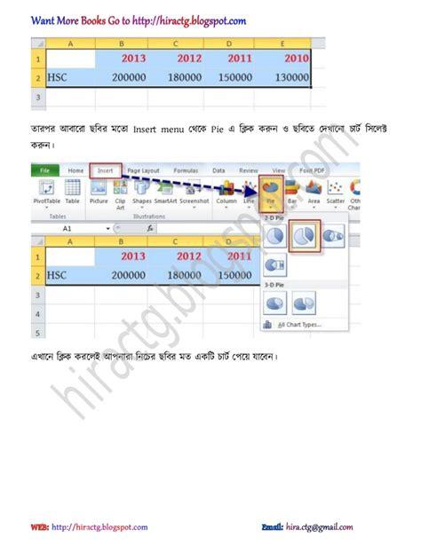 excel tutorial in bangla ms excel 2007 2010 bengali tutorial