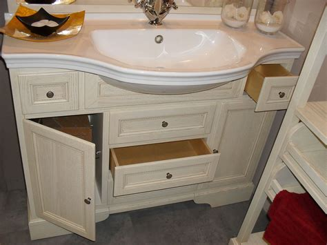 mobiletti bagno offerte bagno classico color crema scontato 64 arredo bagno